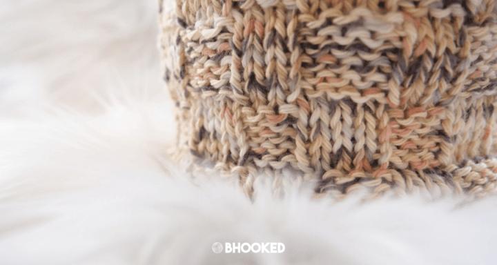 Crochet & Knit Basket | Free Pattern and Tutorial