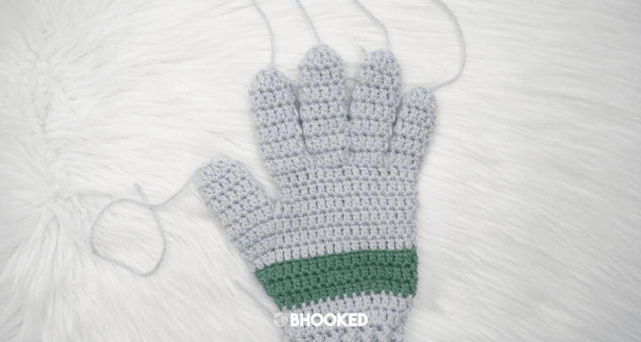 Men's Crochet Gloves | Free Crochet Pattern