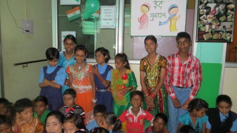 The Chingari Trust helps children born with disabilities due to contamination in Bhopal from the Union Carbide gas disaster