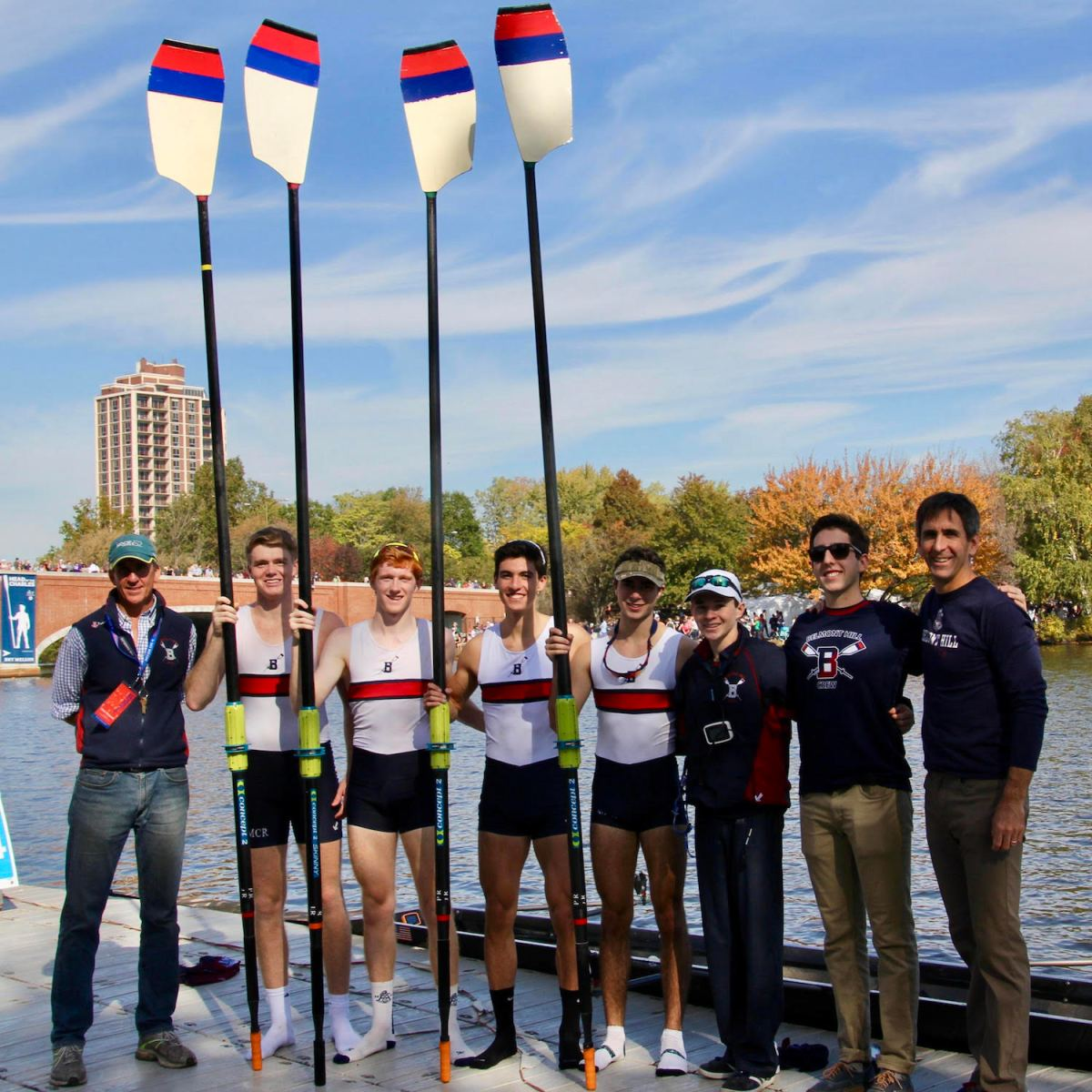 Belmont Hill Holds Their Own in Fast Field at HOCR