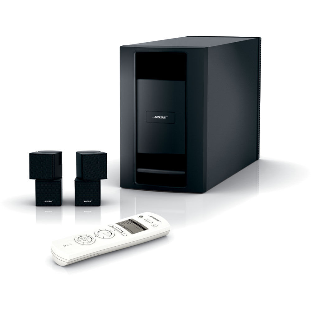 hight resolution of bose lifestyle homewide powered speaker system black
