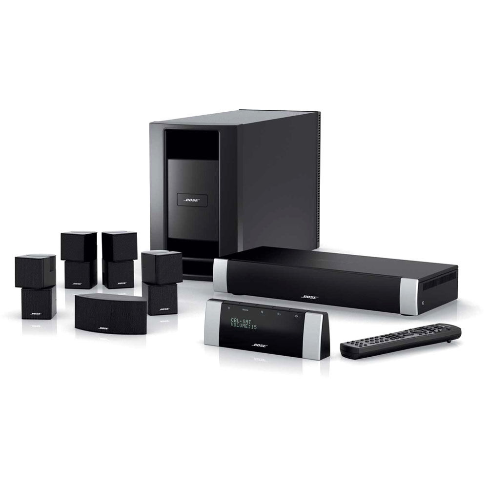 hight resolution of bose lifestyle v30 home theater system black