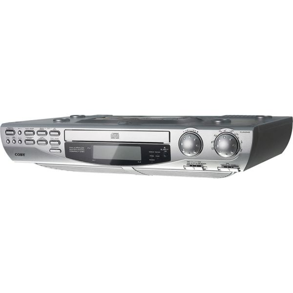 Coby Kcd150 Under-cabinet Cd Player & Video