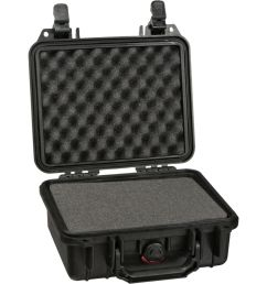 pelican 1200 case with foam black  [ 1000 x 1000 Pixel ]
