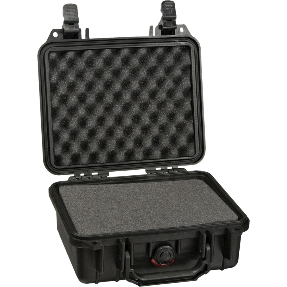 hight resolution of pelican 1200 case with foam black
