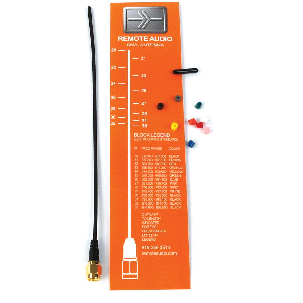medium resolution of remote audio ansmap f kit ultra flexible sma antenna kit