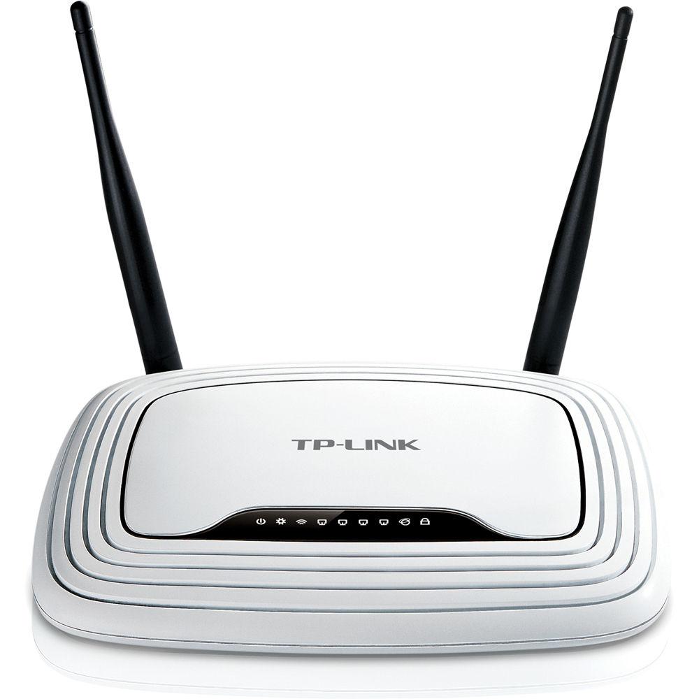 TP-Link TL-WR841N Wireless N 10/100Mb Router TL-WR841N B&H Photo
