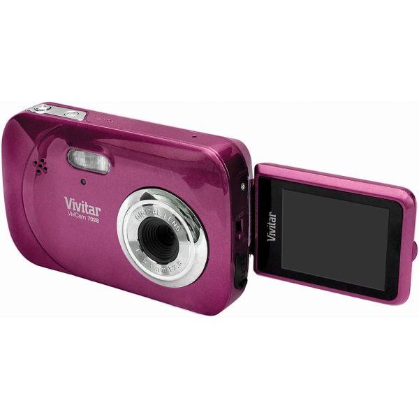 Vivitar Itwist 7028 Digital Camera Grape V7028grape &