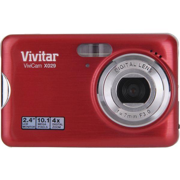 Vivitar Vivicam X029 Digital Camera Strawberry &