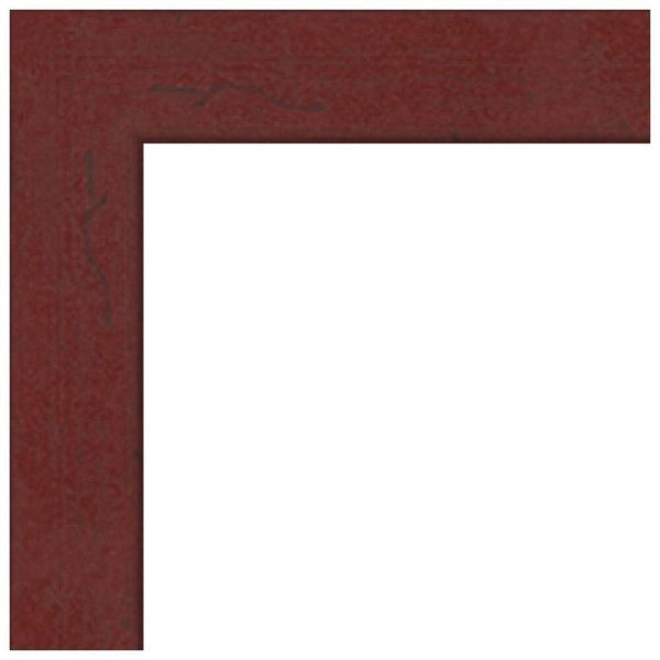 Art Frames 4083 Black Stain Solid Red