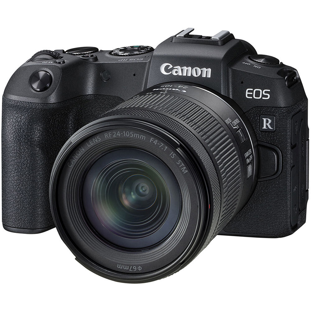Canon EOS RP Mirrorless Digital Camera with 24-105mm 3380C132