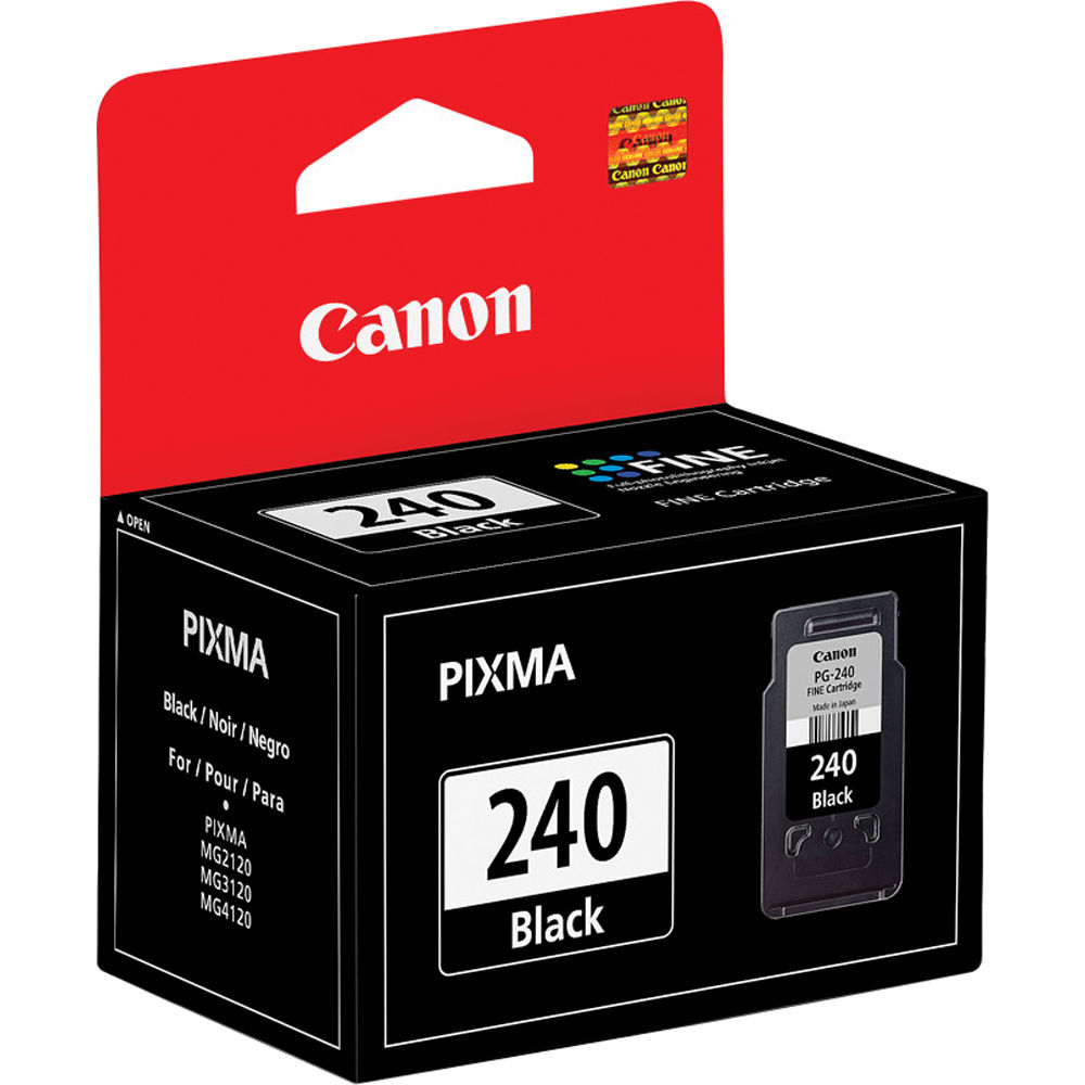 Canon PG-240 Black Ink Cartridge 5207B001 B&H Photo Video