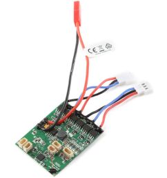 e flite dsmx 4 channel as3x receiver board with twin brushless esc for umx a 10 bl bnf basic [ 1000 x 1000 Pixel ]