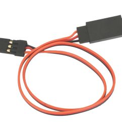 e flite lightweight extension cable for common receiver and servo brands 12  [ 1000 x 1000 Pixel ]