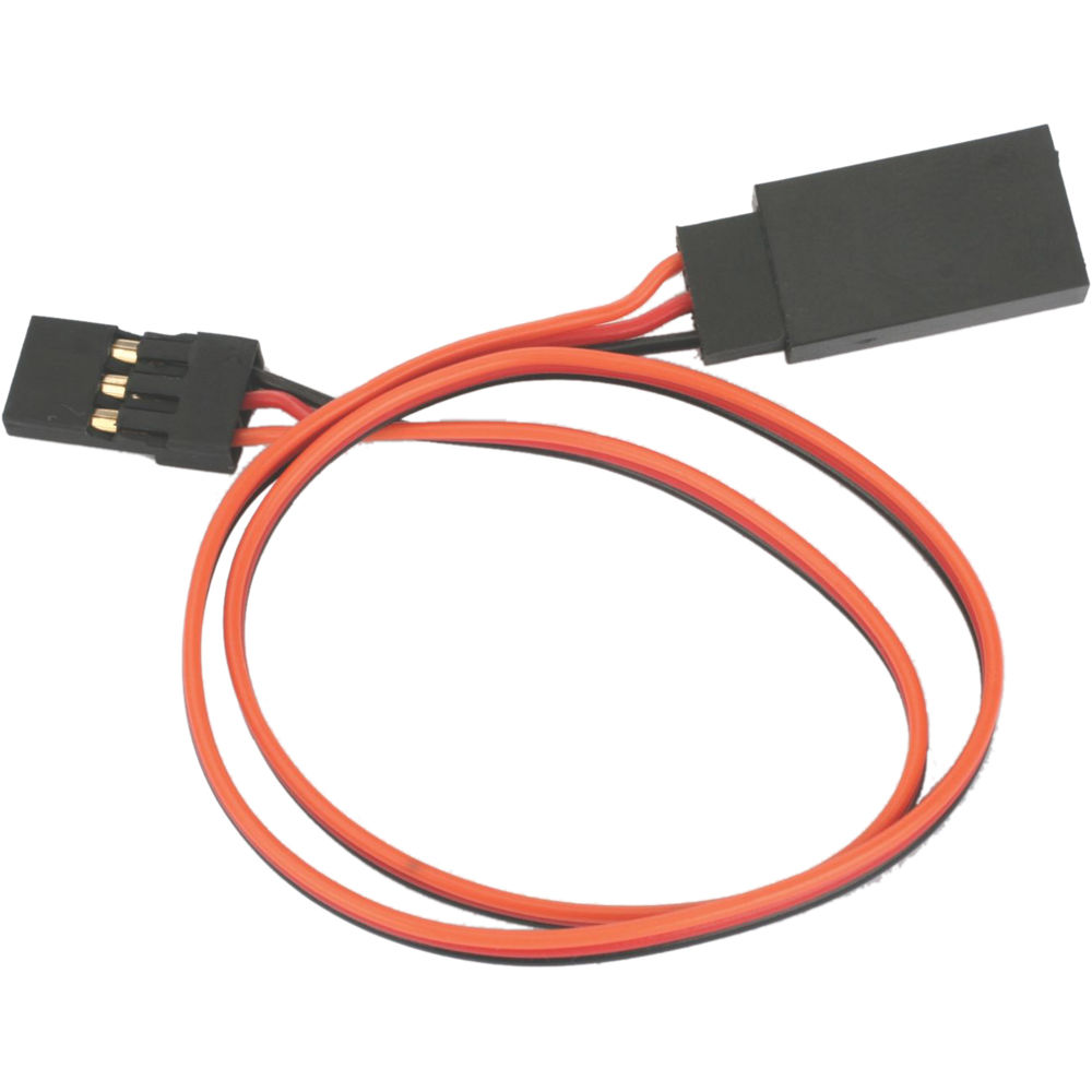 hight resolution of e flite lightweight extension cable for common receiver and servo brands 12