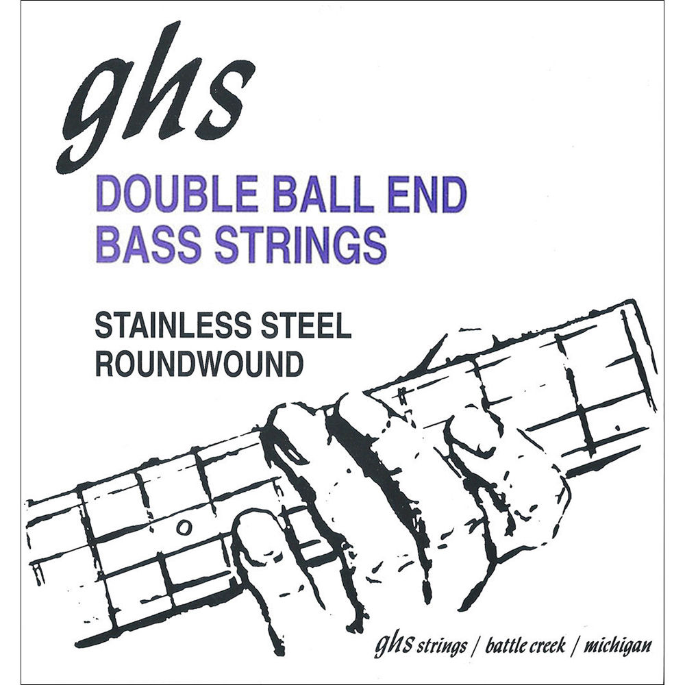 GHS DBB84 Double Ball End Roundwound Electric Bass String