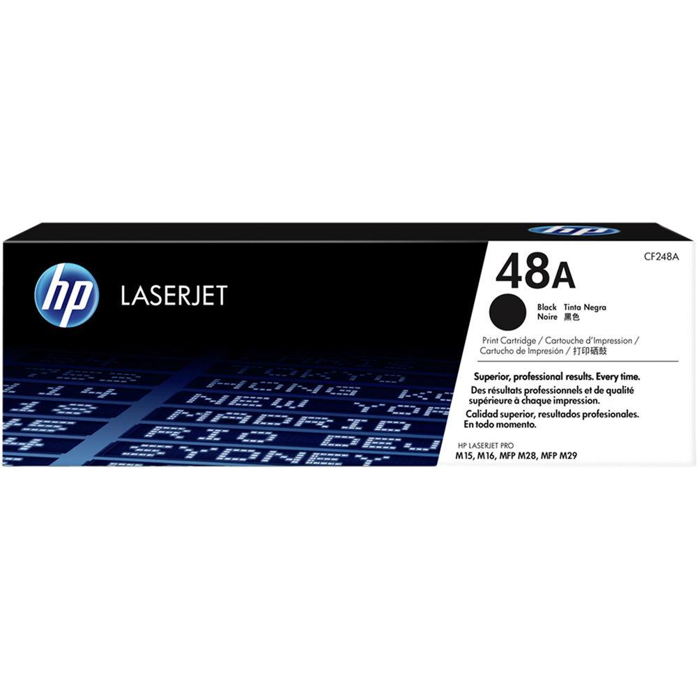 Hp 48a Laserjet Toner Cartridge Black Cf248a B Amp H Photo Video