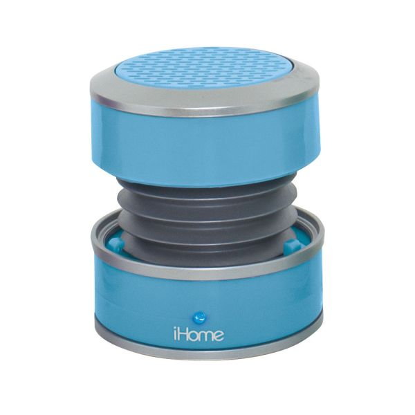 Ihome Ihm60 Rechargeable Mini Speaker Blue Im60lt &