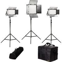 ikan Rayden Bi-Color 3-Point LED Light Kit with 1x RB10 RB ...