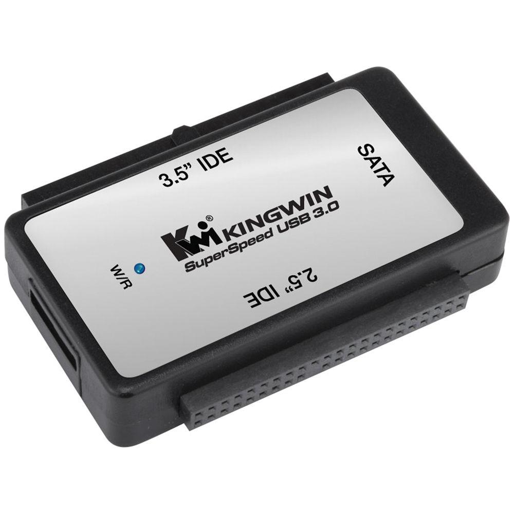 hight resolution of kingwin ez connect usb 3 1 gen 1 to sata ide bridge adapter
