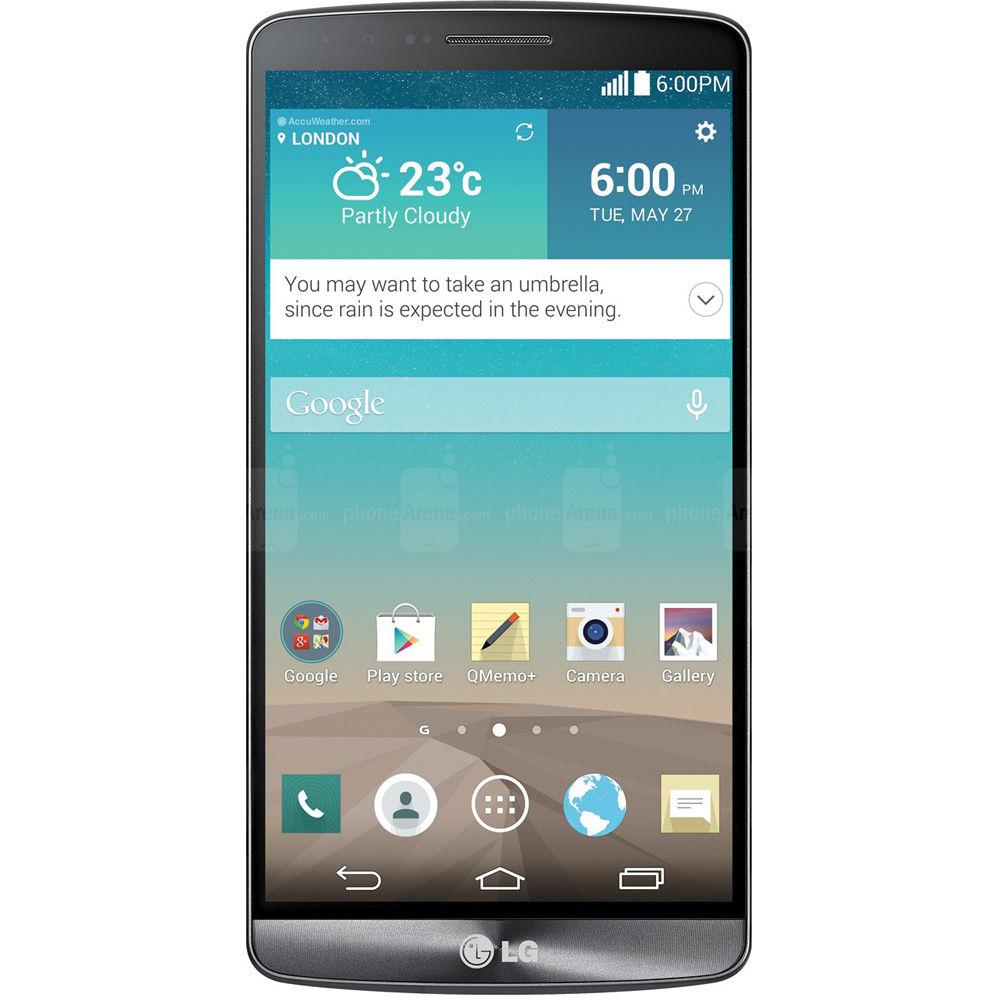LG G3 D855 International 32GB Smartphone G3-D855-32GB-BLACK B&H