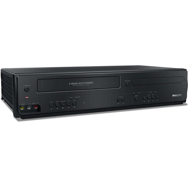 Philips Dvp3355v Dvd Player Vcr Combo Refurbished F7b