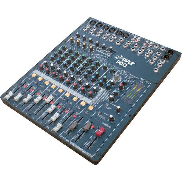 Pyle Pro Pmx1205 12-channel Dsp Mixer & Video