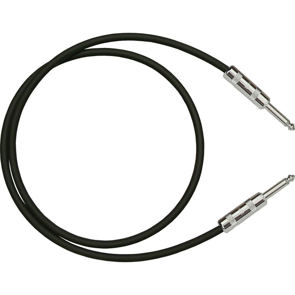 medium resolution of rapcohorizon h speaker cable 1 4 male to 1 4 male 3 black