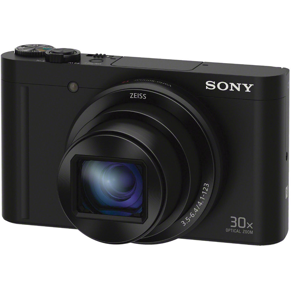 medium resolution of sony cyber shot dsc wx500 digital camera black