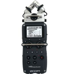 zoom h5 4 input 4 track portable handy recorder with interchangeable x  [ 1000 x 1000 Pixel ]
