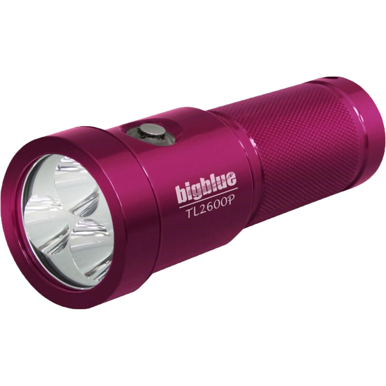 Bigblue TL2600P Rechargeable Dive Light Pink TL2600PGPK BH
