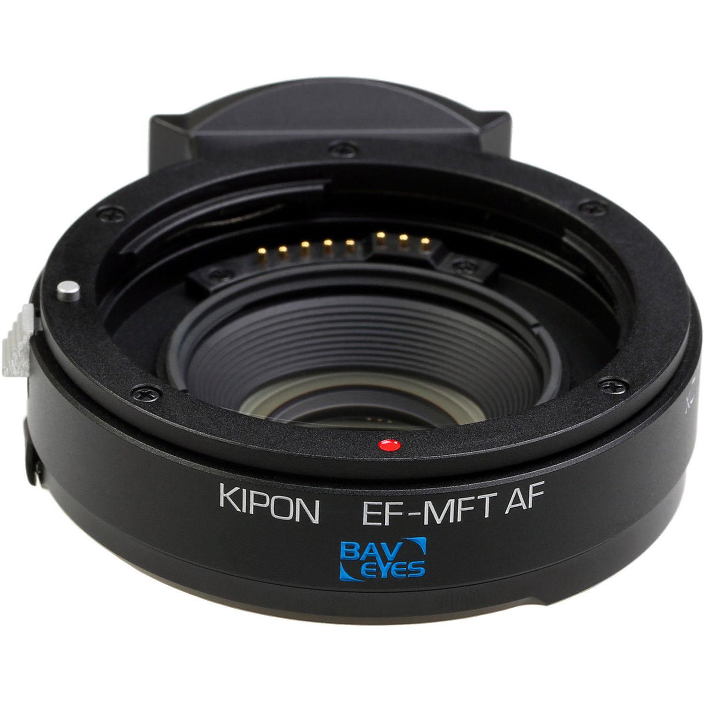 KIPON Baveyes 0.7x Autofocus Lens Mount BAVEYES EF-MFT AF 0.7X