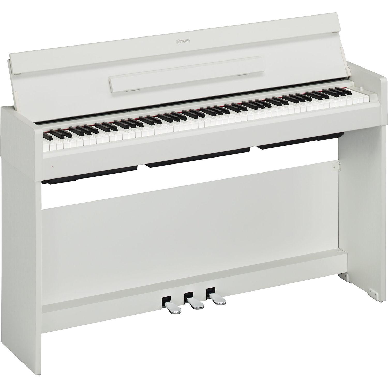Yamaha Arius Ydp S34 Digital Piano White Walnut Ydps34wh B Amp H