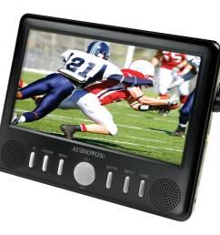audiovox fpe709 7 inch portable digital television [ 2000 x 2000 Pixel ]