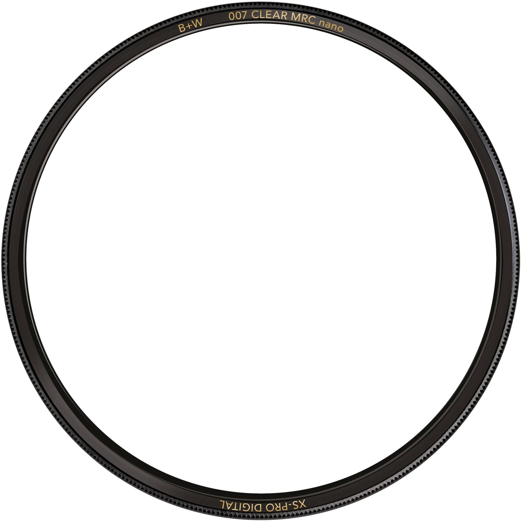 B+W 49mm XS-Pro Clear MRC-Nano 007 Filter 66-1066103 B&H Photo