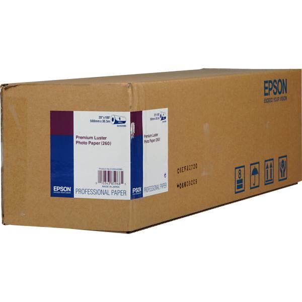 Epson Premium Luster Inkjet Paper S042080 & Video
