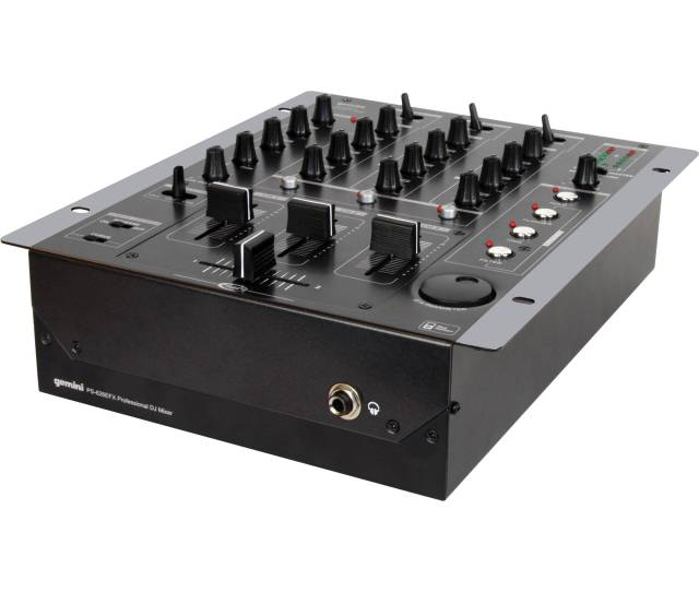 Gemini Ps 626efx Pro 3 Channel Stereo Mixer With Dsp Effects Processor