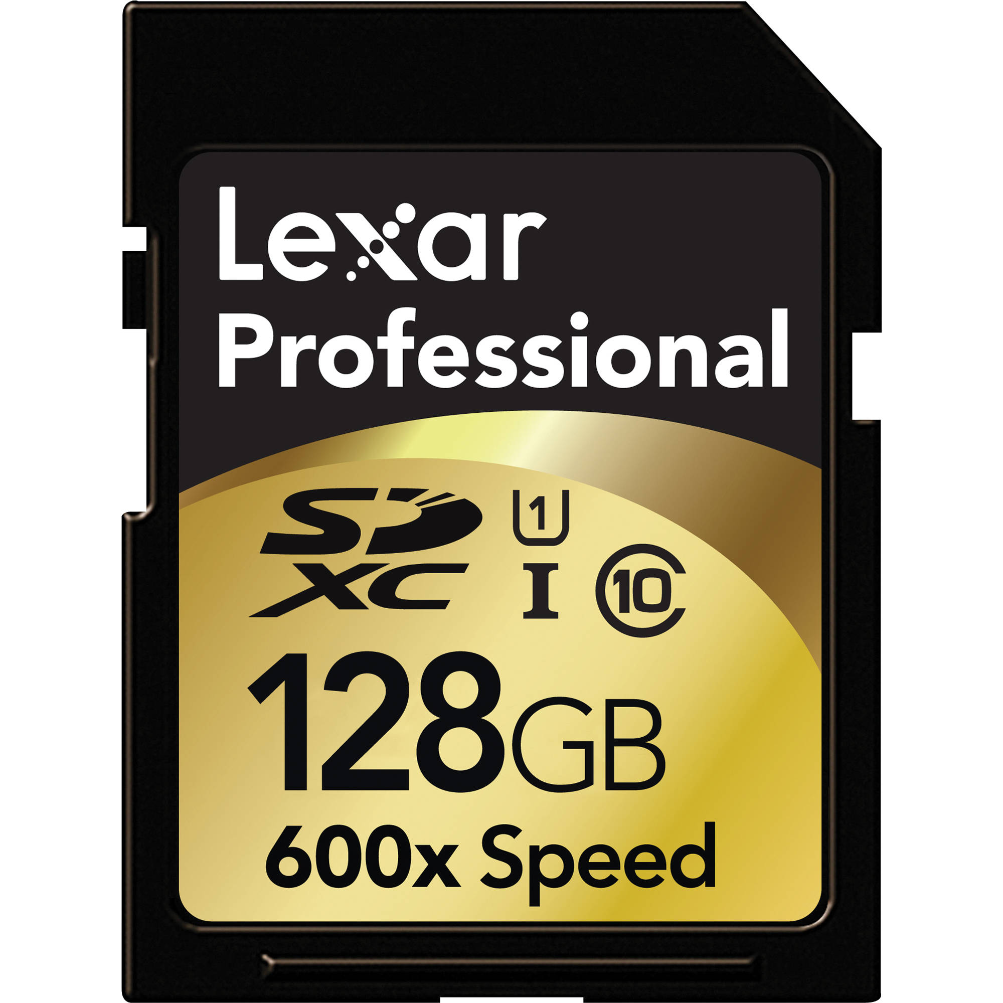 Lexar 128GB SDXC Memory Card Professional Class 10