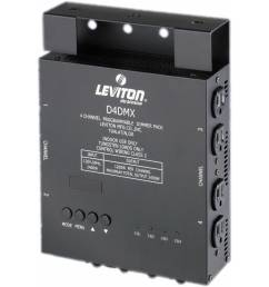 nsi leviton d4 dmx 4 channel programmable dimmer pack 3 pin xlr [ 2000 x 2000 Pixel ]