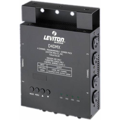 small resolution of nsi leviton d4 dmx 4 channel programmable dimmer pack 3 pin xlr