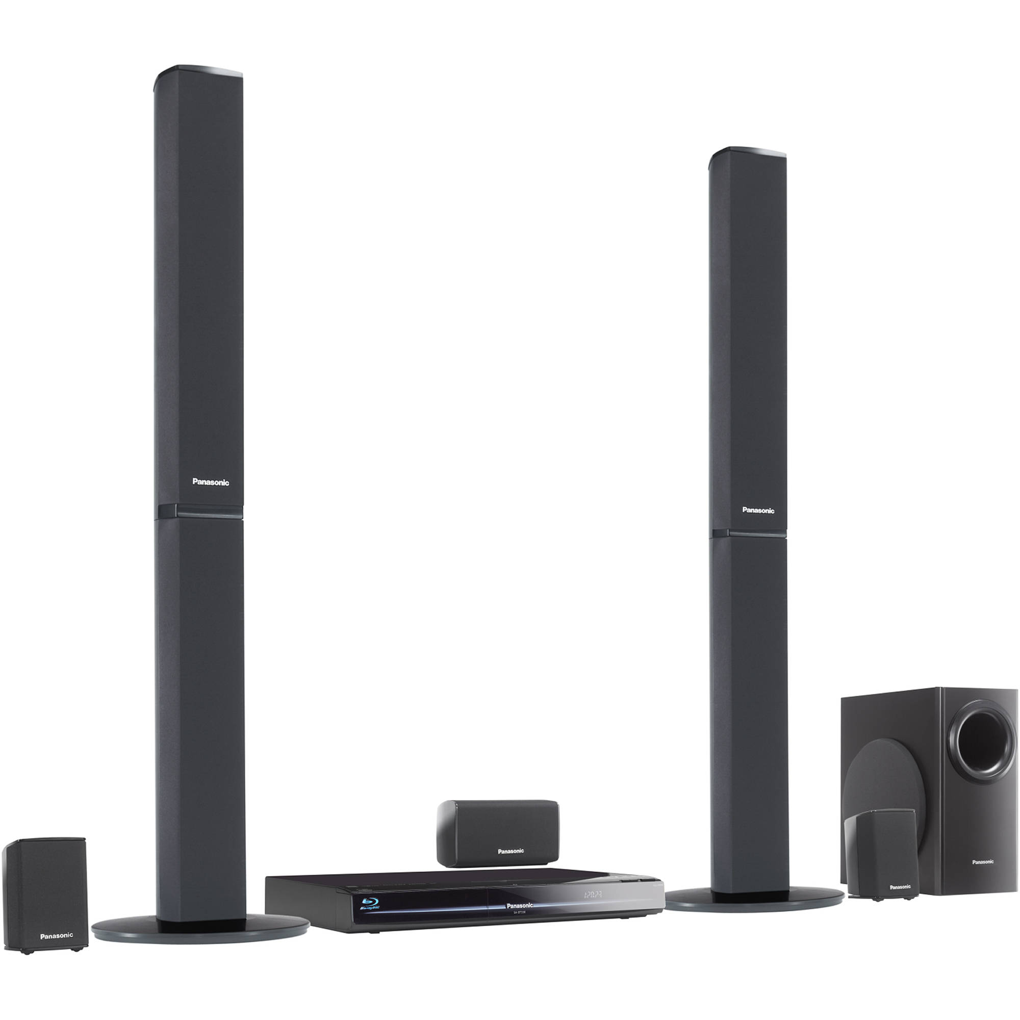 hight resolution of panasonic sc bt330 blu ray home theater system