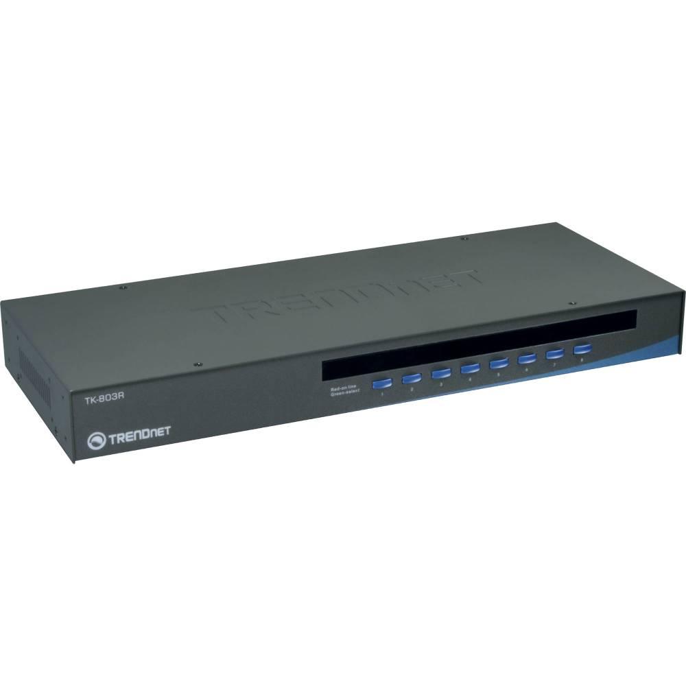 medium resolution of trendnet 8 port usb ps 2 rack mount kvm switch
