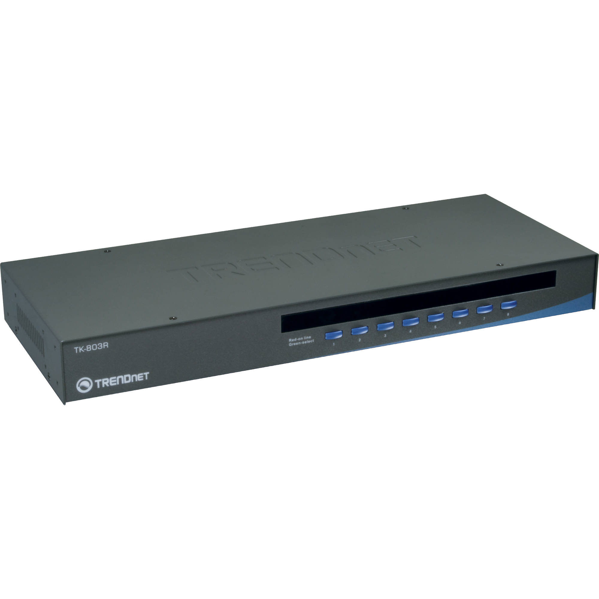 hight resolution of trendnet 8 port usb ps 2 rack mount kvm switch
