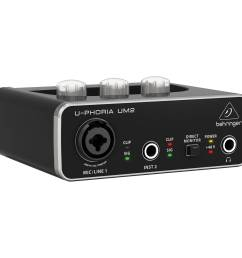 behringer u phoria um2 2x2 usb audio interface [ 2000 x 2000 Pixel ]