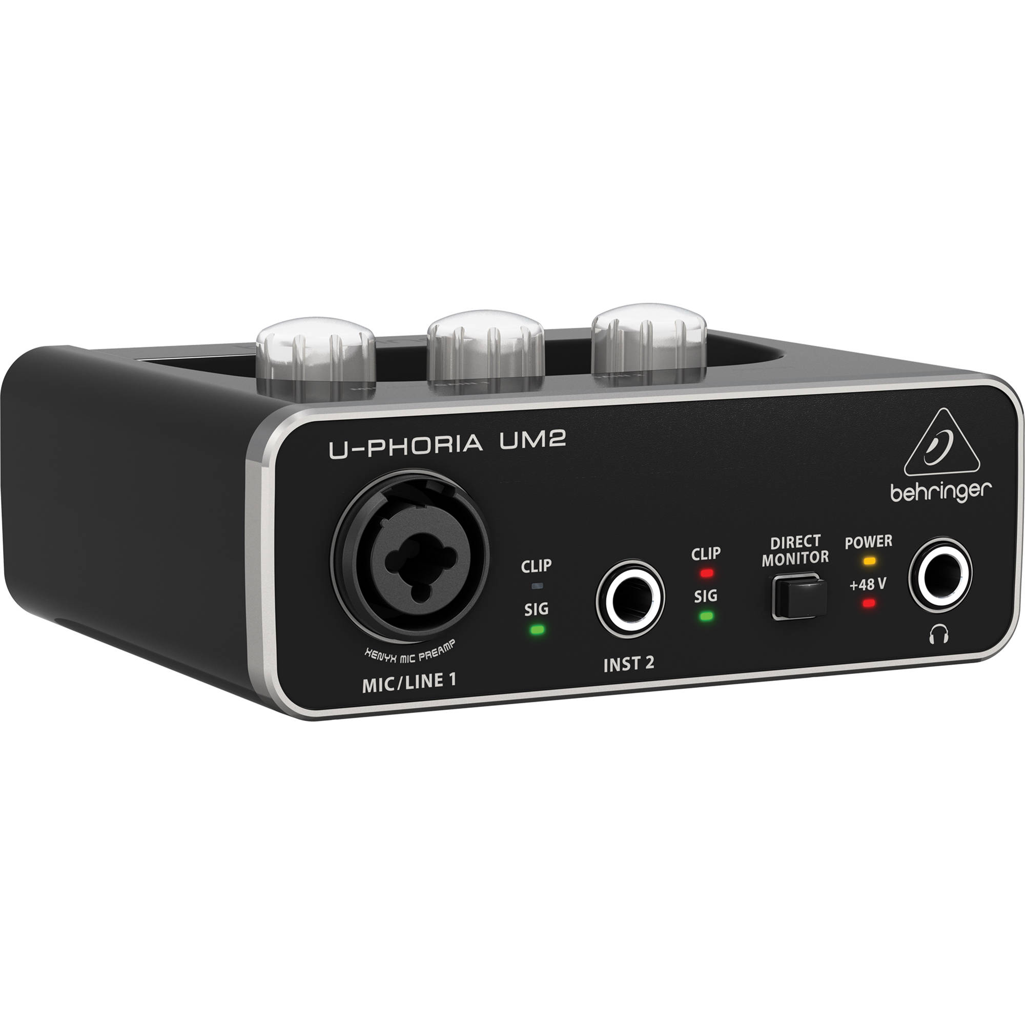 hight resolution of behringer u phoria um2 2x2 usb audio interface
