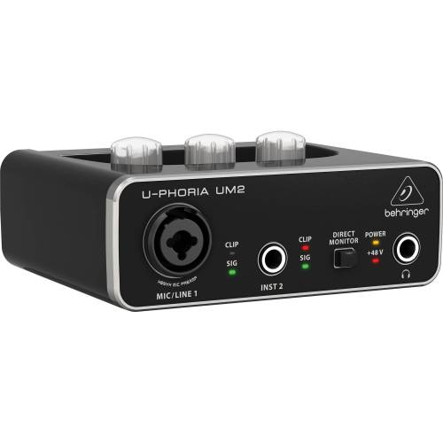 small resolution of behringer u phoria um2 2x2 usb audio interface