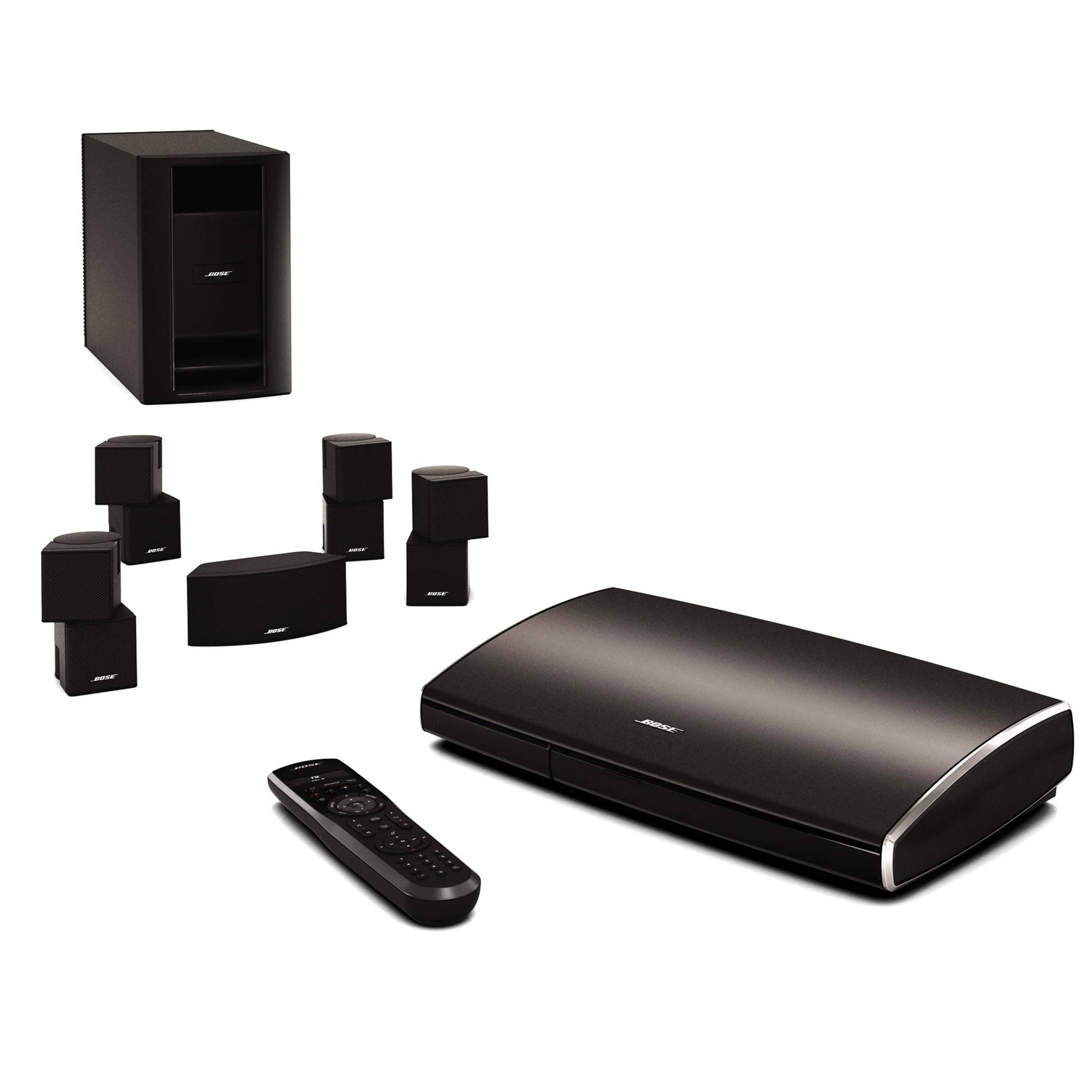 hight resolution of bose lifestyle 535 series ii home entertainment system black