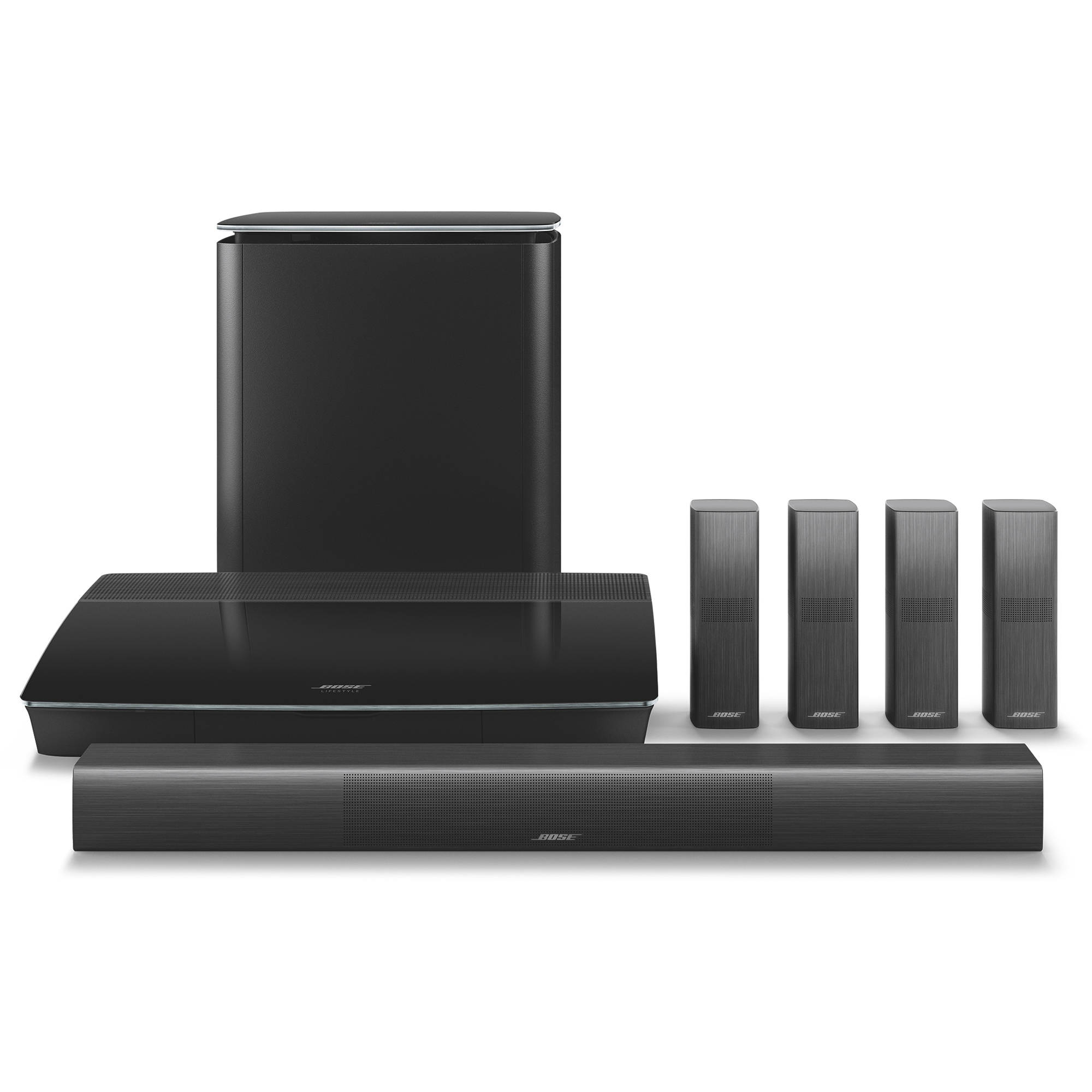 hight resolution of bose lifestyle 650 home theater system with omnijewel speakers black