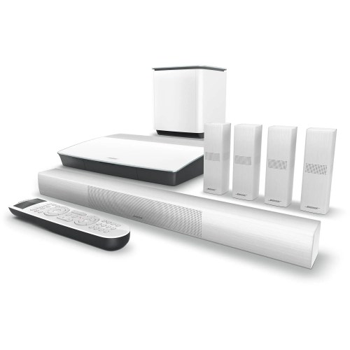 small resolution of bose lifestyle 650 home theater system with omnijewel speakers white