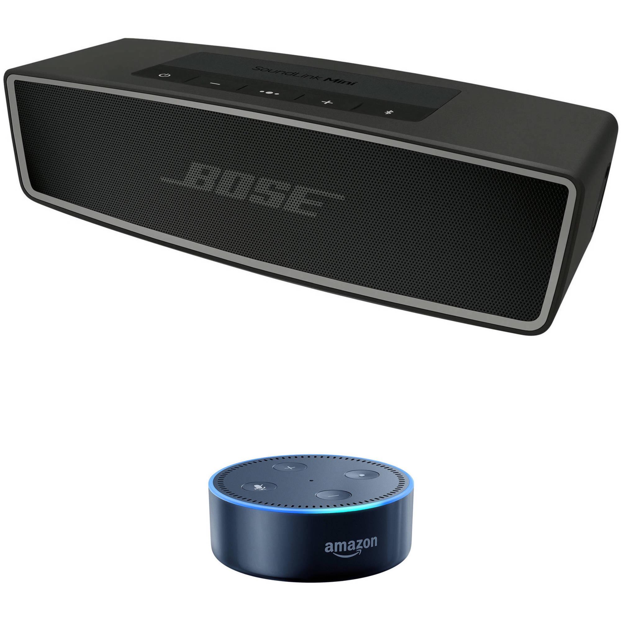 Bose SoundLink Mini Bluetooth Speaker II (Carbon) with Amazon